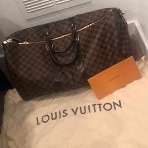 "Louis Vuitton duffle bag ""KEEPALL BANDOULIÈRE 55"""